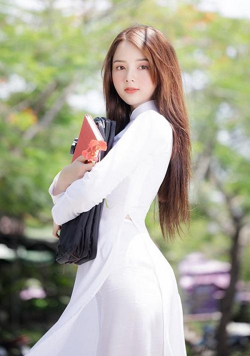 các kiểu áo dài đi học cho học sinh nữ đẹp nhất 8