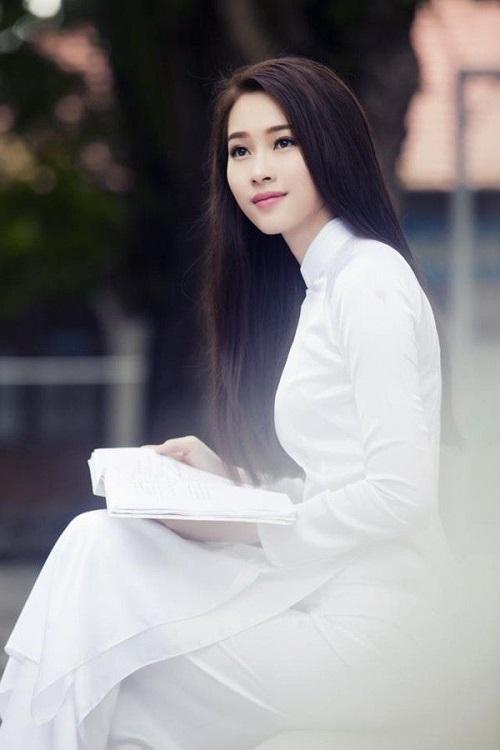 các kiểu áo dài đi học cho học sinh nữ đẹp nhất 1