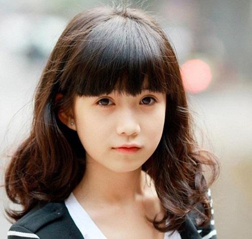 kiểu tóc đẹp cho học sinh nữ cấp 2, 3 phù hợp nhất 1
