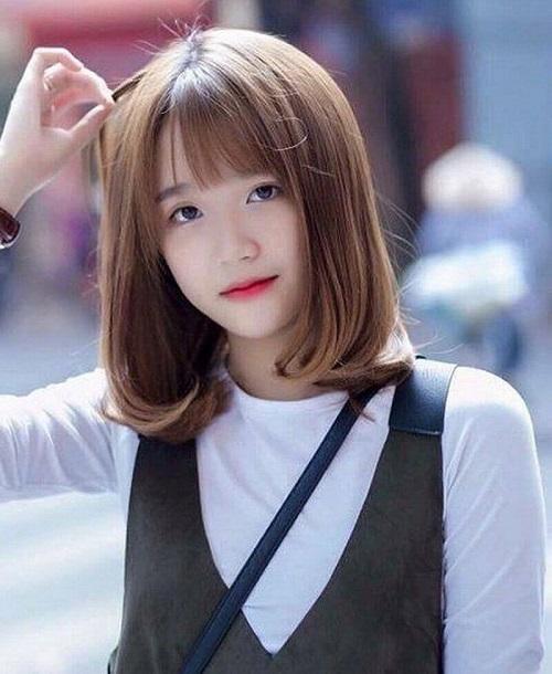 kiểu tóc đẹp cho học sinh nữ cấp 2, 3 phù hợp nhất 3