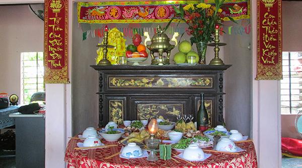 thực đơn đám giỗ theo phong tục truyền thống của người Việt 2