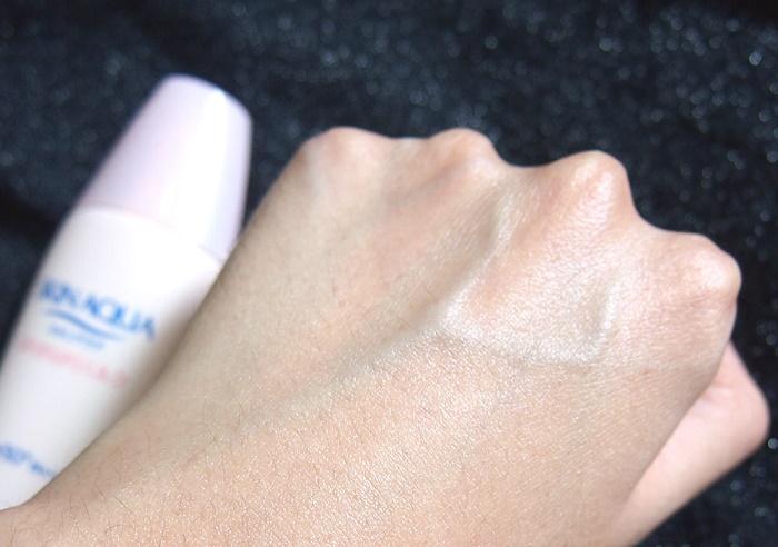 Review kem chống nắng Skin Aqua màu hồng có tốt không
