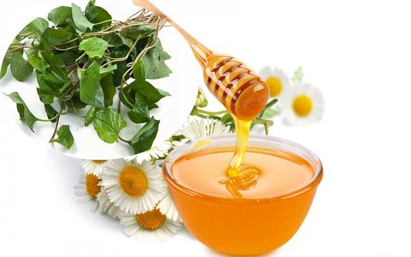 Mặt nạ rau diếp cá và mật ong