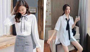 15+ mẫu áo sơ mi trắng nữ đẹp cùng tuyệt chiêu phối đồ đơn giản