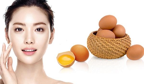 Mặt nạ trắng da từ trứng gà