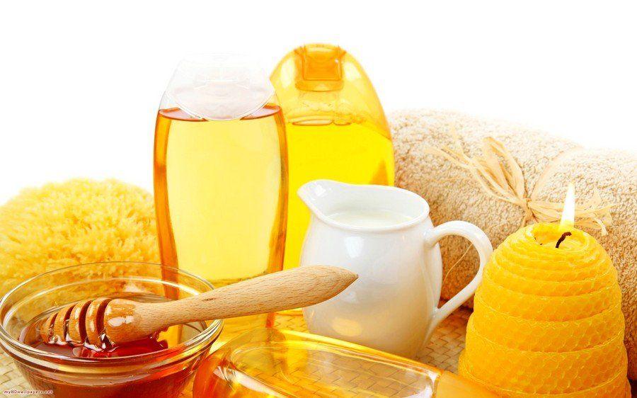 Rửa mặt bằng mật ong 2