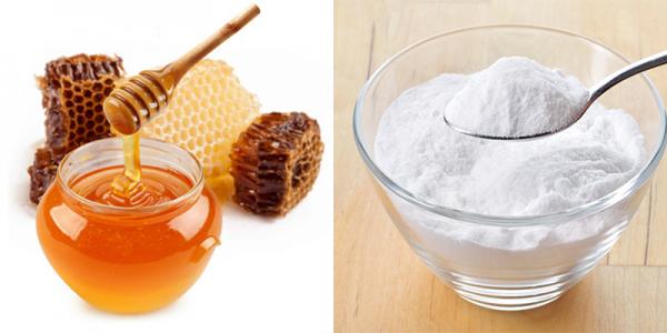Cách tẩy tế bào chết tại nhà bằng baking soda và mật ong