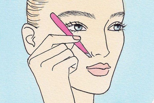 Cách tỉa lông mày hợp với khuôn mặt