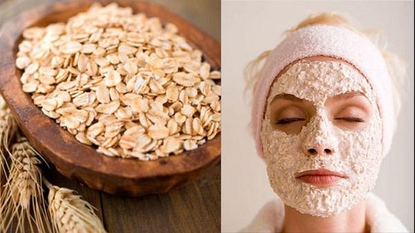 Hướng dẫn cách chăm sóc da mặt bằng bột yến mạch