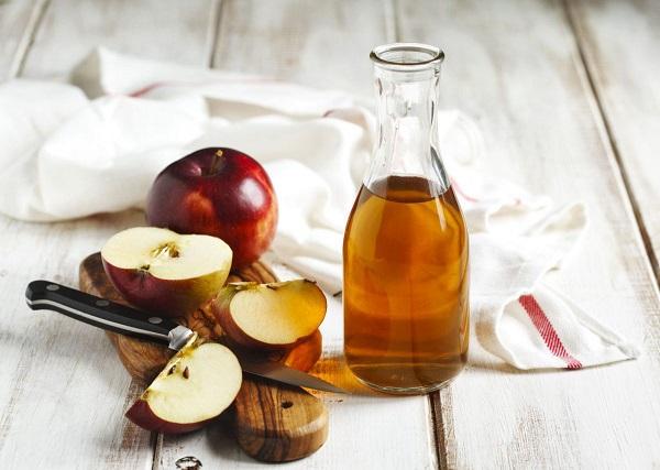 Mặt nạ yến mạch và giấm táo
