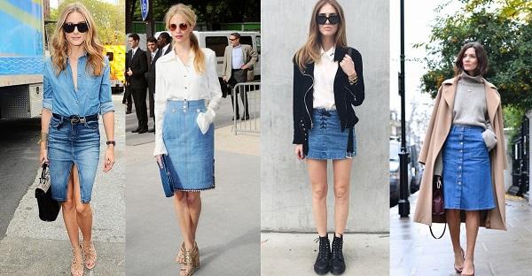 váy jean cho người mập