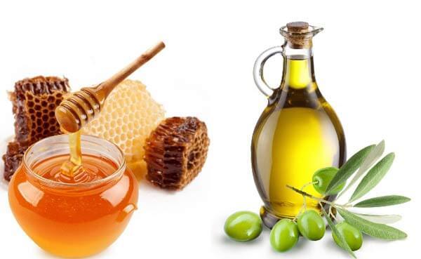 Dầu olive và mật ong chống viêm