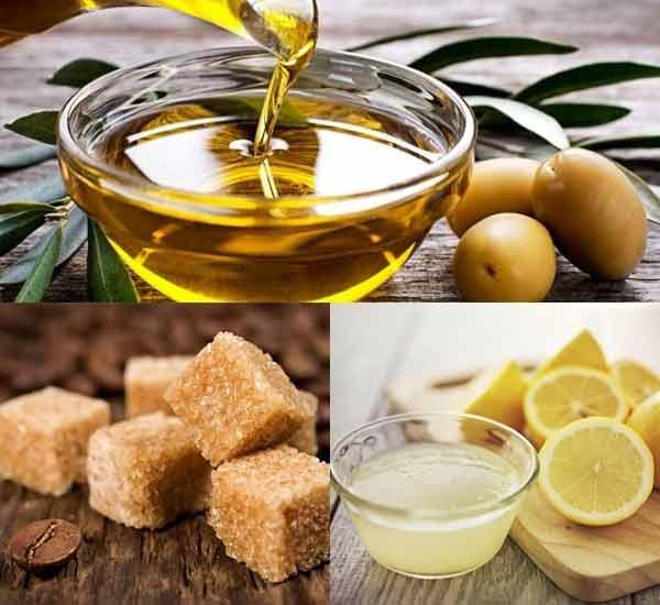 Nước chanh cùng dầu olive giúp sáng da