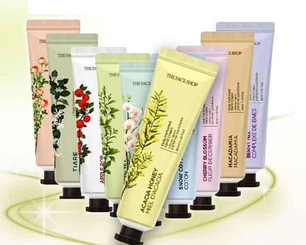 Kem dưỡng da tay Thefaceshop Daily Perfumed Hand Cream ngăn chặn sự hình thành các nếp nhăn