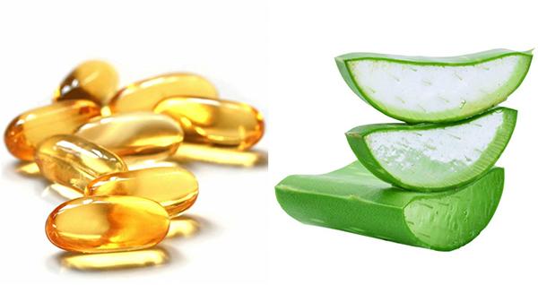 Mặt nạ nha đam và vitamin e có tác dụng làm đẹp da mặt