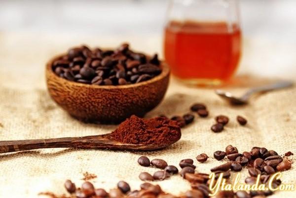 tẩy tế bào chết bằng cafe và mật ong