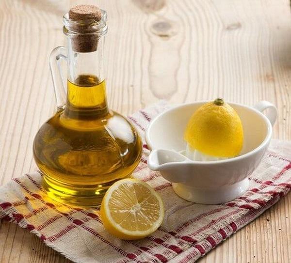 cách tẩy da chết bằng dầu oliu và chanh