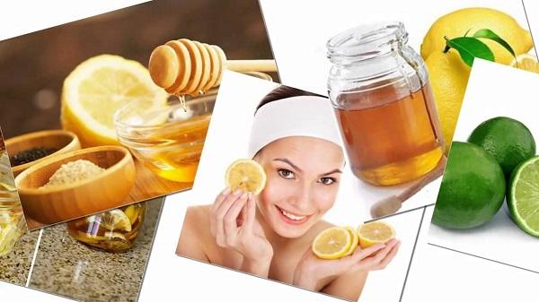 cách tẩy da chết bằng dầu oliu tại nhà với chanh và mật ong