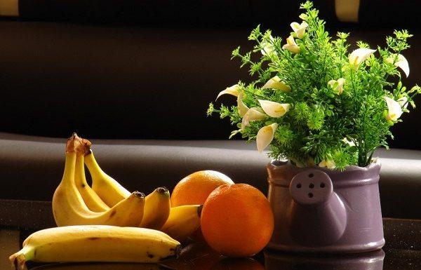 Trẻ hóa da bằng chuối và cam