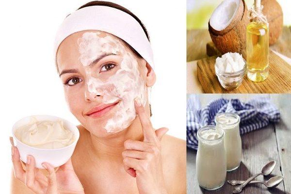 Trẻ hóa da bằng dầu dừa