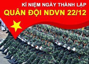 Hát mãi khúc quân hành ngày 22/12 – Ngày Quân đội nhân dân Việt Nam