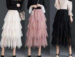 Điểm danh 5 mẫu chân váy lưới đẹp hot trend đốn tim phái nữ
